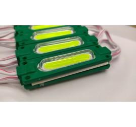 COB Led Modül Lensli Yeşil