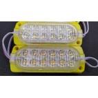 2835 24V Sarı FLASH 12Ledli power modül