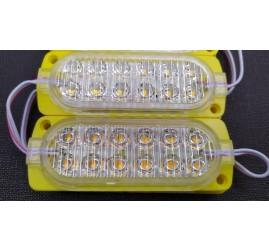 2835 Sarı FLASH 12Ledli power modül 12v